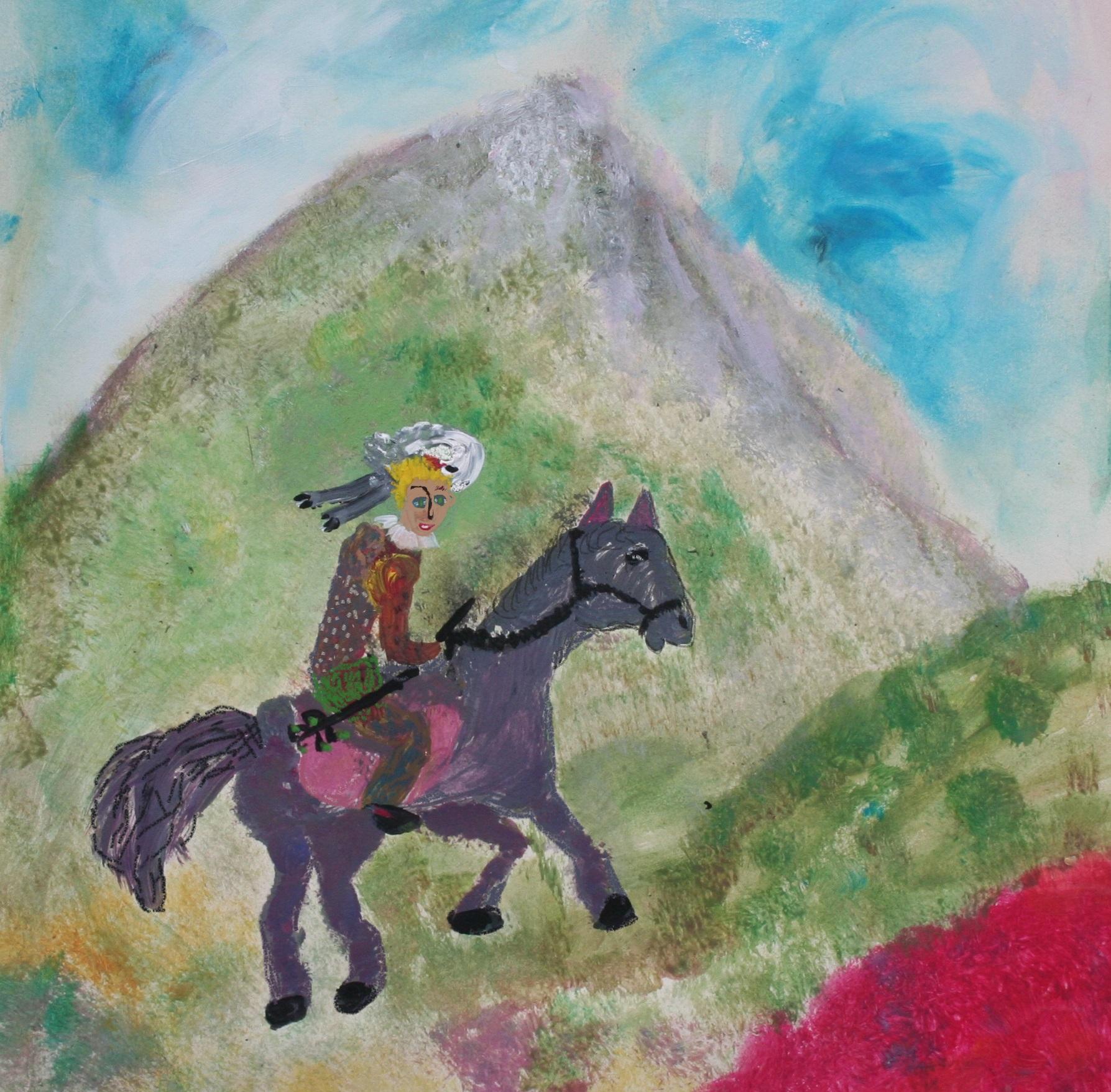 Son cheval Trotro